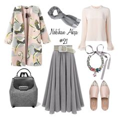 hijab fashion outfit #21 by nebihan-akca on Polyvore featuring polyvore fashion style Roksanda Chicnova Fashion Miu Miu ZAC Zac Posen SHOUROUK