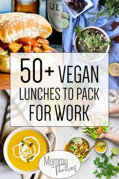 Easy Vegan Lunches For Work - Healthy Vegan Lunch Ideas - Vegan Lunches To P. - Healthy lunch ideas for work - Easy Vegan Lunch, Quick Easy Vegan, Vegan Lunch Recipes, Vegan Lunches, Vegan Foods, Vegan Vegetarian, Salad Recipes, Lunch Ideas Vegan, Vegan Snacks