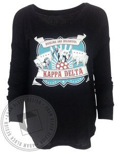 Kappa Delta Circus Bid Day Long Sleeve by Adam Block Design | Custom Greek Apparel & Sorority Clothes | www.adamblockdesign.com