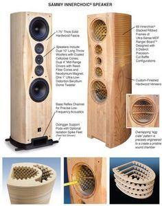 SammyCalloutsFNL parlante con diseño para mejorar el sonido