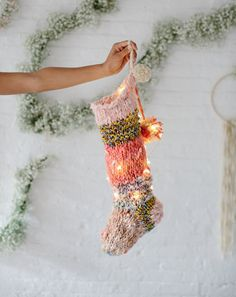 Holiday Stocking by Knit Collage
