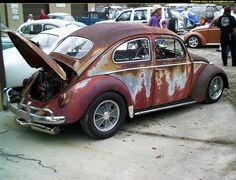 """VW Cox """"patina -look"""" ...... (pour Rom1..... , pis tout le monde .....)"""