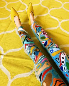Last one of my handpainted trousers, promise!