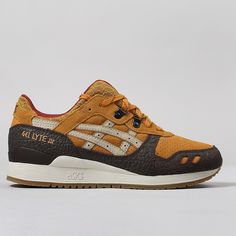 Asics Gel Lyte III Shoes - Tan Sand Limited Edition Trainers, Asics Gel Lyte d1ba9daad3b6