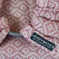 100c1bb4e10 Didymos Rosso Diamond Weave Ring Sling