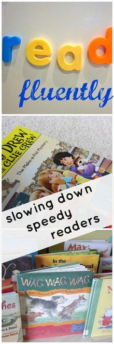 learning during read-alouds: how to slow down speedy readers . .  .small steps toward fluent reading #weteach