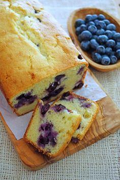 Blueberry Ricotta Custard Cake / Patty's Food