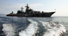 Indra-2015 exercises: Russian ships set sail for India. RFS Varyag (011) - photo Vitaliy Ankov - Sputnik. A convoy of ships of the Russian Pacific Fleet including the missile cruiser Varyag, the destroyer Bystri, the tanker Boris Boutoma and salvage tug Alatau set sail to get to the Indian port of Visakhapatnam, announced Monday Fleet press service said in a statement.