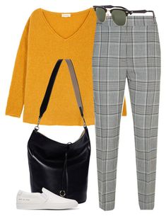 """""""#172"""" by mintgreenb on Polyvore featuring American Vintage, Alexander Wang, Cafuné, Common Projects and Ray-Ban"""