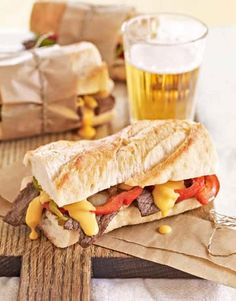 This Chipotle Cheesesteak is easily prepared with leftover pieces of steak from last night's dinner.