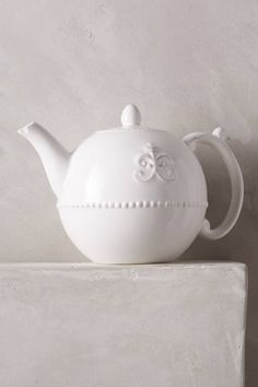 Fleur De Lys Teapot & Anthropologie Fleur de Lys Dinnerware -- For entertaining/special ...