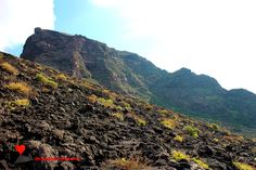 Excursion to the #Stromboli volcano from the #Ginostra side.