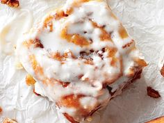 Keep this recipe for Cream Cheese Icing as your go-to icing recipe. You can put it together in 10 minutes, and it's a perfect topping for sweet rolls,