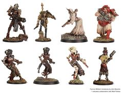 The Marienburg Gazette: Artistic Inspiration #5 - John Blanche Miniatures