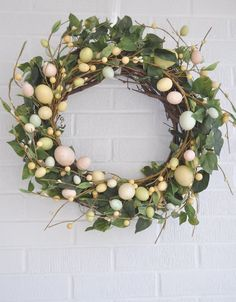 sweet easter wreath inspiration