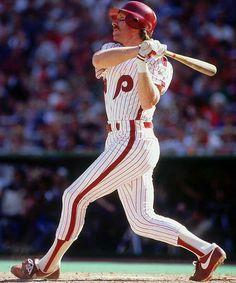 Mike Schmidt - Philadelphia Phillies.  My baseball idol when I was a kid.