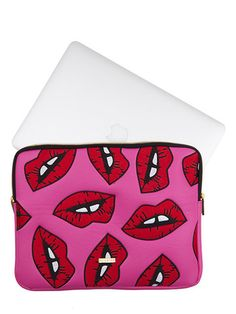 Lips Laptop Case