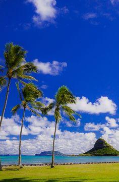 Chinaman's Hat on Oahu