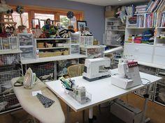 Creative space sewing studio