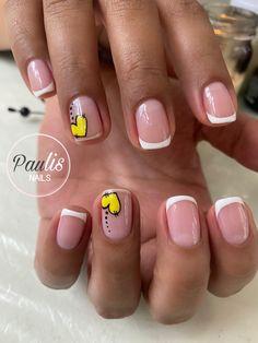 Cute Nail Art, Cute Nails, Precious Nails, Thalia, Short Nails, Manicure And Pedicure, Nail Designs, Hair Beauty, Pretty Pedicures