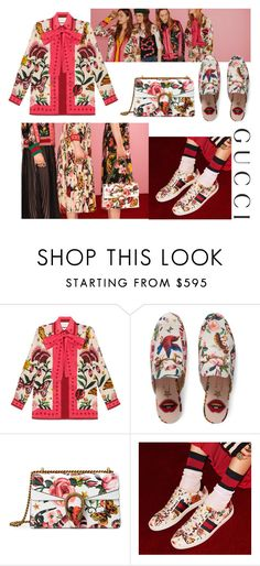 """""""Presenting the Gucci Garden Exclusive Collection: Contest Entry"""" by sophiatsunis on Polyvore featuring Gucci and gucci"""