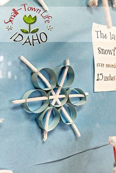 Love these snowflakes. Might have to make these with my boys. IMG_5733signed by Ashmore430, via Flickr