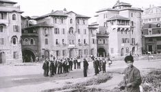 Via Luigi Fincati War Photography, Rome Travel, Once Upon A Time, Luigi, Old Photos, Street View, San, Landscape, History