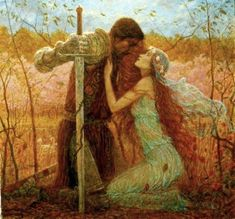 """La Belle Dame Sans Merci"" by Marc Fishman."