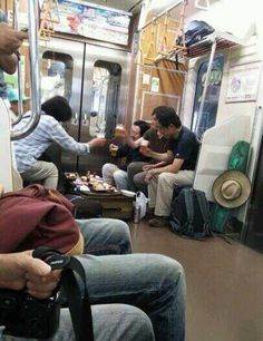 Or drink beer and eat sushi on the subway?   27 Reasons We Should All Be Moving To Japan