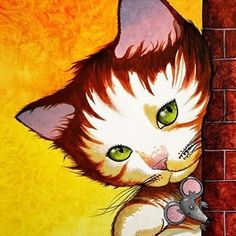 Cat art Street Corne