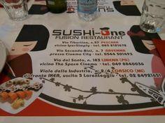 Ristorante Sushi One Via del Santo 183 Limena Padova 0498840036