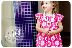 Childrens ClothingBack To School Pink Mod Flower by lakenandlila, $42.50