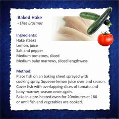 Husband and Wife since sharing our love for food and travel Hake Recipes, Fish Recipes, Clean Eating Recipes, Healthy Eating, Cooking Recipes, 28 Dae Dieet, Healthy Options, Healthy Recipes, Eat Clean Recipes