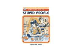A Cure for Stupid People Stationery Cards by Steven Rhodes - Set of 3 Folded Cards x Ohh Deer, Bizarre Art, Just For You, Let It Be, Arte Horror, Drawing Tips, Sketching Tips, Drawing Techniques, Learn Drawing
