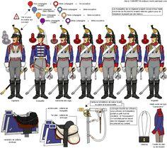 Titre de l'image 1er Escadron du 1er Régiment de Cuirassiers