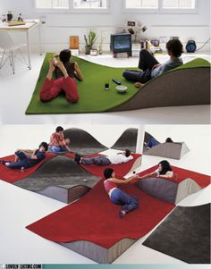 I'm thinking basements, rec rooms, children's rooms endless possibilities