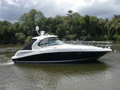 40' SEARAY SUNDANCER - Seatech Marine Products / Daily Watermakers
