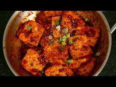 Spicy braised tofu (Dubu-jorim: 두부조림) - YouTube