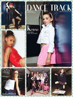 Dance Moms collage of Dance Track magazine photo shoot Dance Moms Dancers, Dance Mums, Dance Moms Girls, Just Dance, Dance Moms Videos, Dance Moms Comics, Kendall Vertes, Show Dance, Ballet