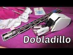 Dobladillo con Prensatelas Doble Arrastre   EL BAÚL DE LAS COSTURERAS Sewing Hacks, Sewing Tutorials, Tailoring Techniques, Pattern Drafting, Diy Tutorial, Singer, Youtube, Flowers, Scrappy Quilts