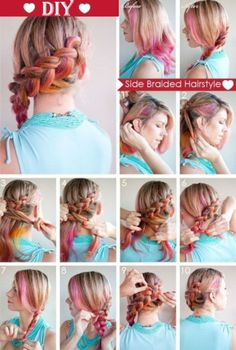 Easy DIY Hairstyles for Medium and Long Hair1 (14)