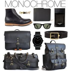A menswear look from September 2016 by marlondo featuring Movado, Ray-Ban, rag & bone, Tom Ford, men's fashion and menswear