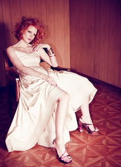 Jessica Chastain by Justin Hollar for Angeleno Magazine, May 1, 2011