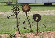 welded garden art - Bing Images