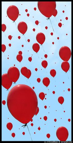 329 Best Red Balloons Images