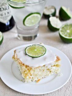 gin  tonic cake. What!
