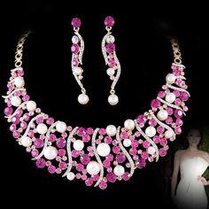 Prom Jewelry | bridal jewelry set wedding jewelry bride bridemaid gown evening dress