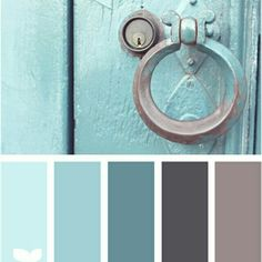 Kitchen colors schemes vintage design seeds 70 Ideas for 2019 Kitchen Colour Schemes, Kitchen Colors, Kitchen Ideas, Teal Kitchen, Color Schemes With Gray, Kitchen Design, Kitchen White, Wall Colors, House Colors