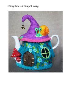 Fairy House teapot cozy