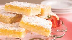 Luscious Lemon Bars - 100 Ways to Cook Southern - Southern Living - Classic lemon squares are always a popular dessert at teas, luncheons, and showers. As an added bonus, you can make them ahead and freeze for up to one month.   Recipe: Luscious Lemon Bars